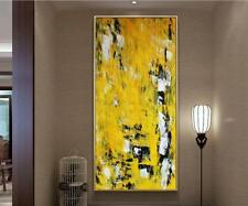 YA913 China style Hand-painted oil painting on canvas Lotus flower