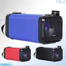 "TQ-LX808 4"" Rechargeable Square Multi-Media Speaker +Bluetooth +USB/SD/FM/LED"