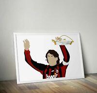 224026 Paolo Maldini AC Milan GLOSSY POSTER  DE