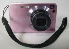 "Sony Cyber-shot DSC-W120 Digital Camera 7.2MP 2.5"" 4x Oz Pink Good Condition"