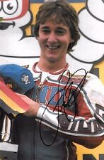 Freddie Spencer SIGNED 9x6  World  Motorcycle Champion Portrait 1983