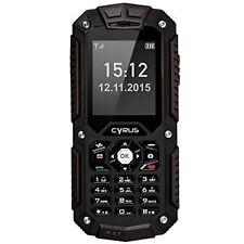 Cyrus CM6 schwarz DualSIM-Outdoor-Handy 2 Zoll QCIF Display NEU