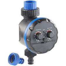 Wasserzeitschaltuhr: Elektronische Bewässerungsuhr, bis 7 Tage