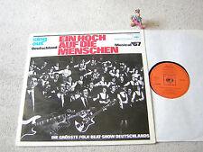 SING OUT DEUTSCHLAND Ein Hoch auf die Menschen 1967 GER LP CBS S 62974 FOLK-BEAT
