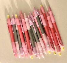 18 Count Pink Pens Black Ink