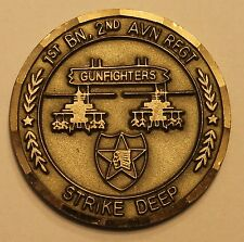 1st Battalion, 2nd Aviation Regiment Army Challenge Coin