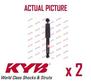 2 x NEW KYB REAR AXLE SHOCK ABSORBERS PAIR STRUTS SHOCKERS OE QUALITY 343331
