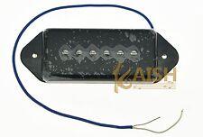 Black P90 High Power Sound Dog Ear BRIDGE Pickup Soap Bar Guitar Pickups