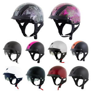 *FAST FREE SHIPPING* Scorpion EXO-C110 Motorcycle HALF Helmet (ALL COLORS)