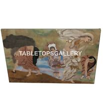 3'x2' Marble Dining Table Top Portrait Inlay Art Interior Cafeteria Decors B023
