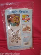 Simply Sequins Looney Tunes Wile E Coyote 6253 Kit New Sealed Ugly Sweater Sulyn