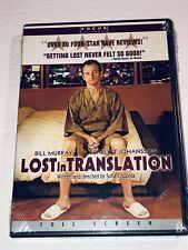 Lost in Translation (Dvd, 2004, Full screen) Bill Murray 11L