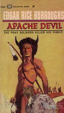 Apache Devil by Edgar Rice Burroughs 1964 Ballantine Paperback 1st Printing