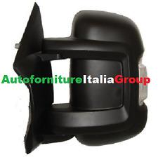SPECCHIO SPECCHIETTO RETROVISORE SX MANUALE BR/CORTO C/FAN FIAT DUCATO 06> 2006>
