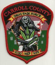 Narcotics Drug Task Force Maryland State Police Caroll County Maryland MD