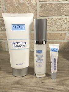 Dr. Denese HydroShield  Hydrating Eye Face Cleanser Serum COMBO (BEST VALUE)