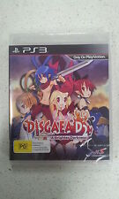 Disgaea D2 A Brighter Darkness Sony PS3 Game  Brand New