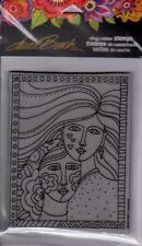 New Stampendous RUBBER STAMP LAUREL BURCH FRIENDSHIP WOMEN FREE US SHIP