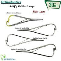 Ortodontiche Legando Pinze Ago Supporto Mathieu Forcipi Set Dentale Laboratorio