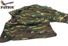 Maglietta Patton mimetica in cotone T-shirt manica corta