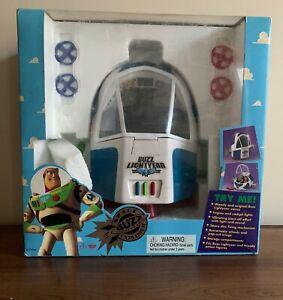 Rare 1995 Disney's Toy Story Buzz Lightyear Space Explorer, Thinkway Toys, NIB