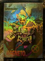 1992 IMPEL - MARVEL X-MEN - HOLOGRAM Chase / Insert Card XH-4 Magneto