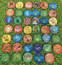 Rare Pokemon Holographic Tazos + Special Edition Tazos Lot Some Doubles Bundle