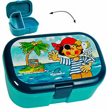 "Lunchbox/Lunch Box - "" Treasure Island & Pirate "" - Bpa Free - with Extra"