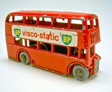 """Matchbox Regular Wheel Nr. 5B London Bus rare """"BP visco-static"""" Beschriftung"""