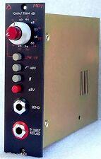 Demo Avedis Audio MD7 MD-7 500-Series Mic Pre DI Input/Sends Microphone Preamp
