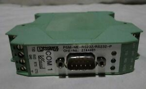 Phoenix Contact PSM-ME-RS232/RS232-P Interface converter RS-232