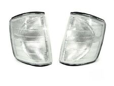 USA Mercedes Benz W201 84-93 190E 190D Clear Corner Lights Pair Free Ship!