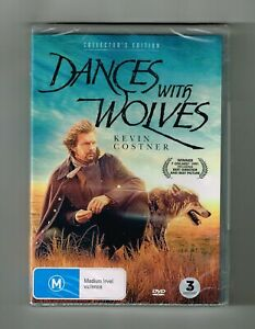 Dances With Wolves - Collector's Edition Dvd 3-Disc Set - Brand New & Sealed