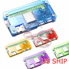 Many Color Acrylic Case With HeatSink for Raspberry PI Zero & w Wifi