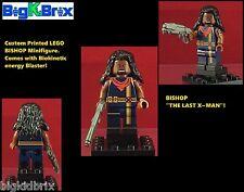 BISHOP XMen Marvel Superhero Custom Printed LEGO Minifigure with Weapon