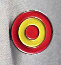 Metal Enamel Pin Badge Brooch RAF Spain Spanish Air Force Roundal Circle Logo