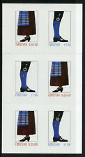 Faroes Faroe Islands 2017 MNH Faroese National Costumes II 6v S/A Booklet Stamps