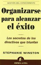 Organizarse Para Alcanzar El Exito / Organized for