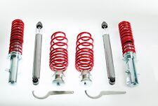 VW Golf 4 - Amortisseurs filetés - Ressorts reglables - Kit suspension complet