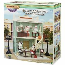 Sylvanian Families DELICIOUS RESTAURANT Town Series TS-02 Epoch Calico Critters