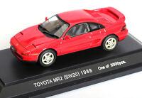 Ebbro 1/43 Scale Die-Cast Model Red Car - TOYOTA MR2 (SW20) 1989