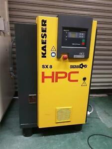 HPC Kaeser SX8 Rotary Screw Compressor,