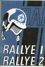 SIMCA RALLYE 1 & 2 Notice d'entretien COPIE REPRO coupure en haut des 96 pages