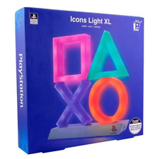 PlayStation Lamp Icons XL Icon Light USB or Batteries 30x10 Cm