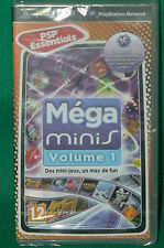PSP jeu NEUF sous cello scellé MEGA MINIS Volume 1 new sealed PLAYSTATION
