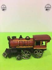 Vintage Cast Iron Train Engine 8.5'' long