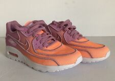 Nike Air Max 90 Ultra 2.0 Women's Size 8 Glow/sunset Glow-Orchid (917523-800)