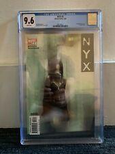 CGC 9.6 NYX #3 MARVEL COMICS 2003 1ST APPEARANCE OF X-23 LAURA KINNEY-WOLVERINE