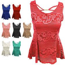Sleeveless Classic Tops & Shirts Size Petite for Women