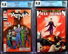 🔥🦇 Batman 89 Hell Arisen 3 CGC 9.8 2nd print set appearance cameo punchline DC